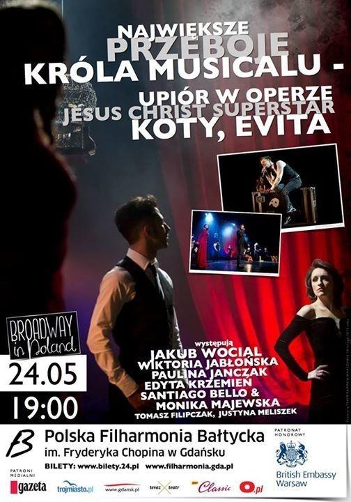 The Best of Lord Andrew Lloyd Webber: Największe przeboje króla musicalu Gdańsk